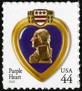 US Stamp Gallery >> Purple Heart