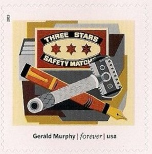 US Stamp Gallery >> Razor, by Gerald Murphy