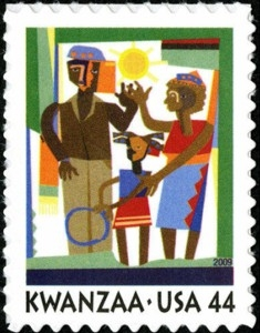 US Stamp Gallery >> Kwanzaa