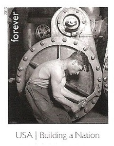 US Stamp Gallery >> Powerhouse Mechanic