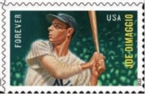 US Stamp Gallery >> Joe DiMaggio