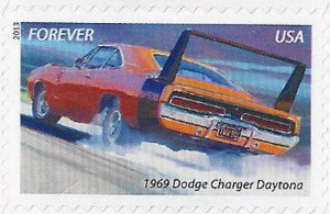 US Stamp Gallery >> 1969 Dodge Charger Daytona