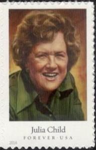 US Stamp Gallery >> Julia Child
