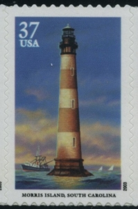 US Stamp Gallery >> Morris Island, South Carolina