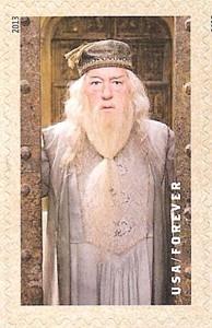 US Stamp Gallery >> Headmaster Albus Dumbledore