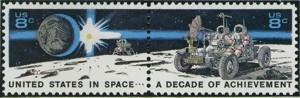 US Stamp Gallery >> Space Achievement Decade