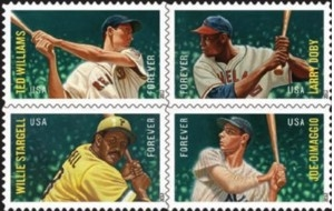 US Stamp Gallery >> Major League Baseball All-Stars