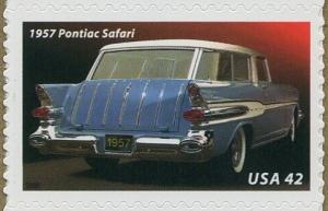 US Stamp Gallery >> 1957 Pontiac Safari