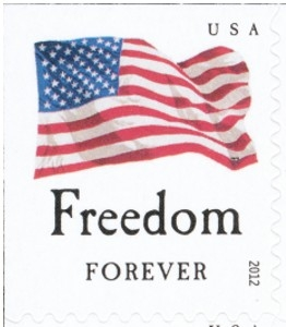 US Stamp Gallery >> Freedom