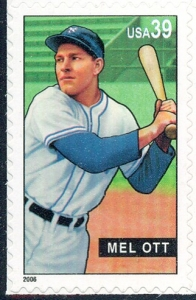 US Stamp Gallery >> Mel Ott