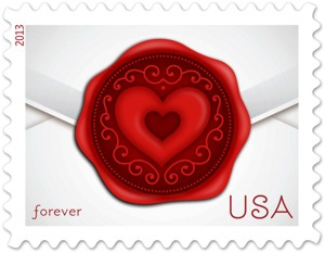 US Stamp Gallery >> Sealed with Love