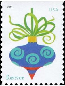 www.usstampgallery.com >> US Postage Stamp >> Holiday Baubles