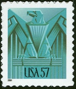 US Stamp Gallery >> Eagle