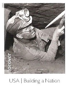 US Stamp Gallery >> Coal Miner