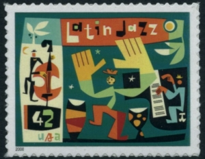 US Stamp Gallery >> Stylized dancers