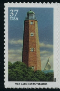 US Stamp Gallery >> Old Cape Henry, Virginia