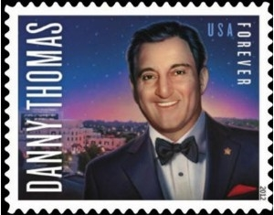 US Stamp Gallery >> Danny Thomas