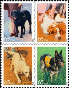 US Stamp Gallery >> Dogs at Work