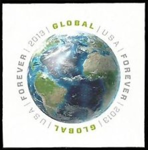 US Stamp Gallery >> Globe