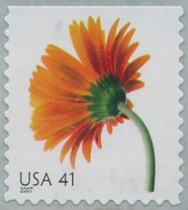 US Stamp Gallery >> Orange gerbera daisy