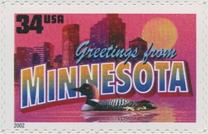 US Stamp Gallery >> Minnesota