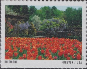 US Stamp Gallery >> Biltmore Estate Gardens