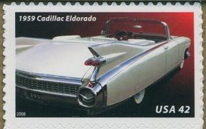 US Stamp Gallery >> 1959 Cadillac Eldorado