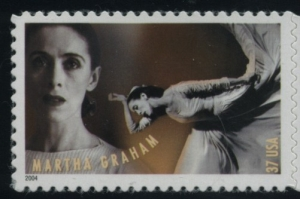 US Stamp Gallery >> Martha Graham