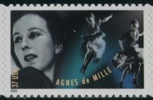 US Stamp Gallery >> Agnes de Mille