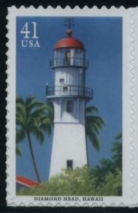 US Stamp Gallery >> Diamond Head Lighthouse, Hawaii