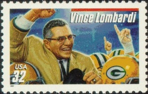 US Stamp Gallery >> Vince Lombardi
