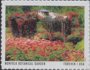 US Stamp Gallery >> Norfolk Botanical Garden
