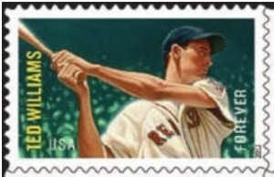 US Stamp Gallery >> Ted Williams