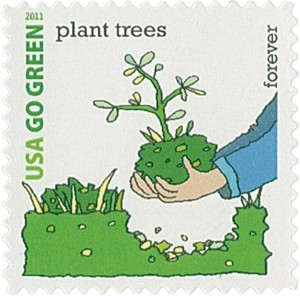 US Stamp Gallery >> Plant Trees