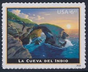 US Stamp Gallery >> La Cueva del Indio