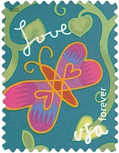 US Stamp Gallery >> Butterfly