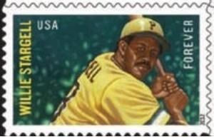 US Stamp Gallery >> Willie Stargell