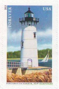 US Stamp Gallery >> Portsmouth Harbor, NH