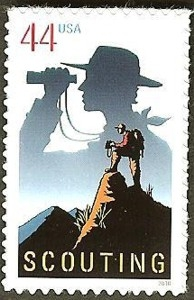 US Stamp Gallery >> Scouting