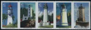 US Stamp Gallery >> Pacific Lighthouses
