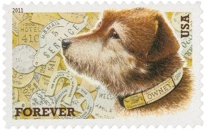 US Stamp Gallery >> Owney the Postal Dog
