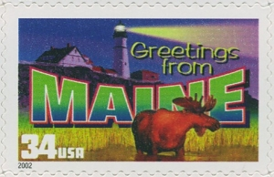 US Stamp Gallery >> Maine