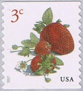 US Stamp Gallery >> Strawberry