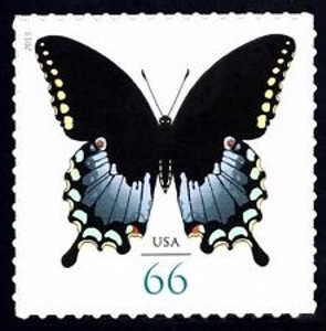 US Stamp Gallery >> Spicebush Swallowtail