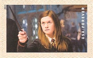 US Stamp Gallery >> Ginny Weasley