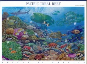 US Stamp Gallery >> Pacific coral reef