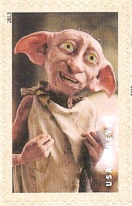 US Stamp Gallery >> Dobby the House Elf