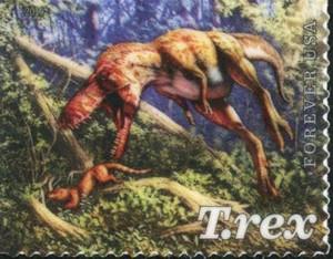 US Stamp Gallery >> Juvenile Chasing Mammal