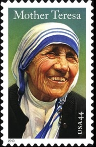 US Stamp Gallery >> Mother Terersa