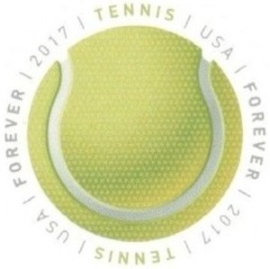US Stamp Gallery >> Tennis ball